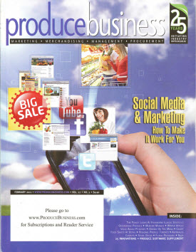 Promolux in Produce Business Magazine